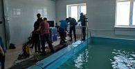 ӨКМдин суучулдары Казакстанда тренинг учурунда
