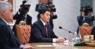 Председатель кабинета министров Улукбек Марипов вместе с другими главами правительств стран СНГ в Минске