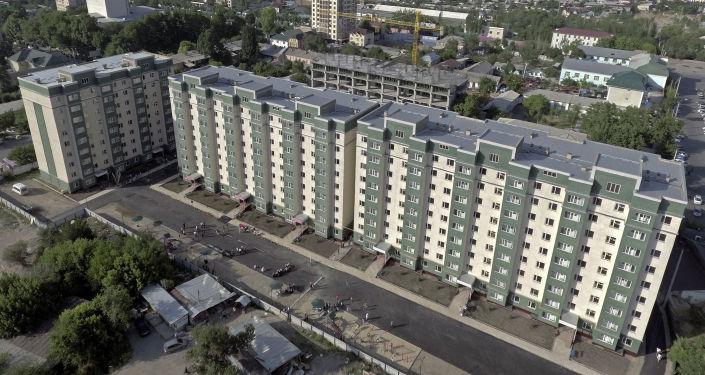 Жилой дом построенный для военнослужащих Министерства обороны и Пограничной службы ГКНБ. 28 мая 2021 года