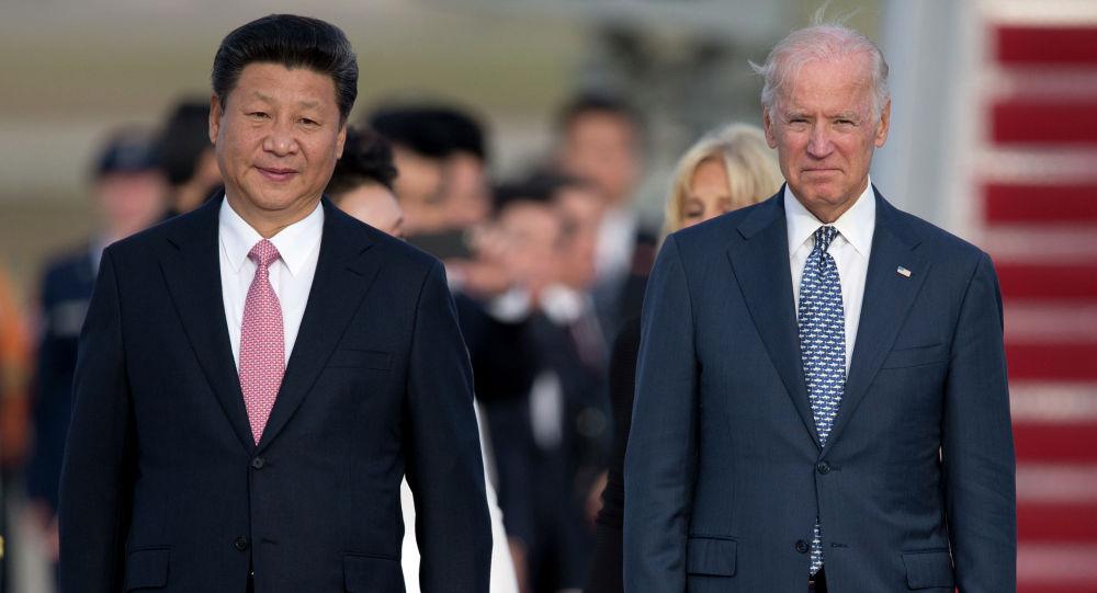 Президент Китая Си Цзиньпин и президент США Джо Байден. Архивное фото