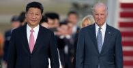 АКШ президенти Жо Байден жана Кытай лидери Си Цзиньпин. Архивдик сүрөт