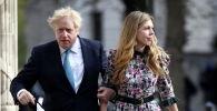 Улуу Британиянын премьер-министри Борис Жонсон жана Кэрри Саймондс. Архив