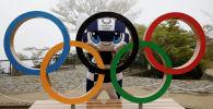 Талисман Олимпийских игр в Токио. Архивное фото