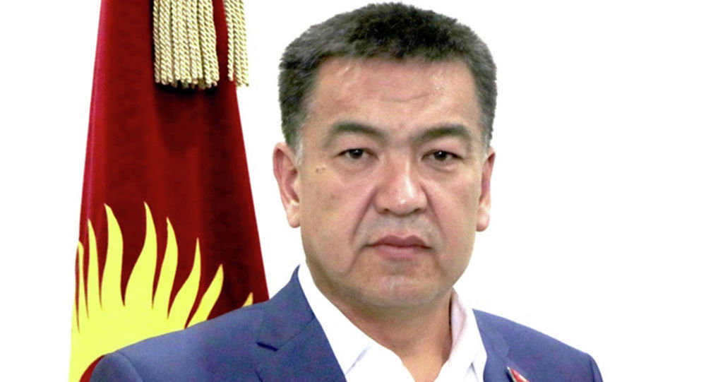 Депутат Жогорку Кенеша Нурбек Мурашев
