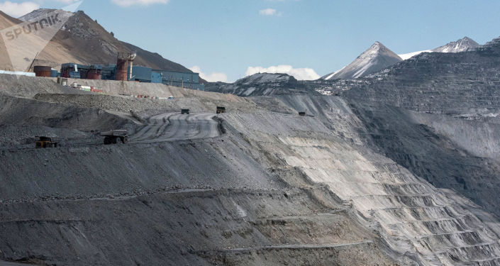 Золотоносный рудник Кумтор Голд Компани в Иссык-Кульской области. 28 мая 2021 года