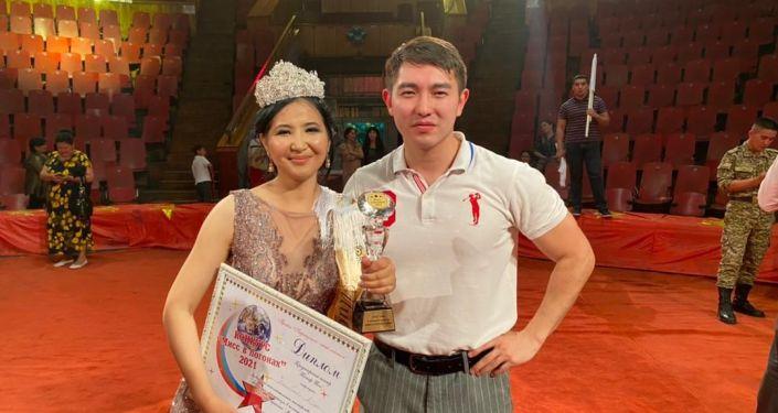 Победительница конкурса красоты Мисс в погонах – 2021 Айзада Максатбекова