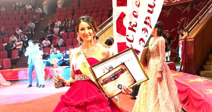 Участница конкурса красоты Мисс в погонах – 2021 Мээрим Баскеева