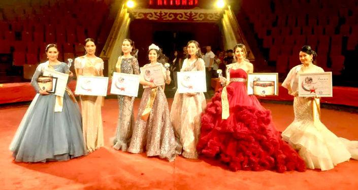 Участницы конкурса красоты Мисс в погонах – 2021