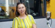 Республикалык ден соолукту чыңдоо жана массалык коммуникация борборунун дарыгери, пульмонолог Анара Калиева
