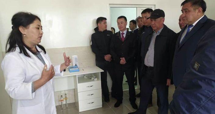 В городе Нарын открылся фитосанитарная лаборатория