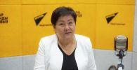 Директор Республиканской библиотеки для детей и юношества Роза Султангазиева