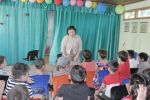 Республикалык ден соолукту чыңдоо жана массалык коммуникация борборунун (РДЧМКБ) адистери Бишкек шаарындагы Балдарды социалдык жактан адаптациялоо борборундагы бөбөктөрдү майрамдатты
