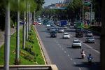 Транспорт на улице Байтик-Баатыра в Бишкеке