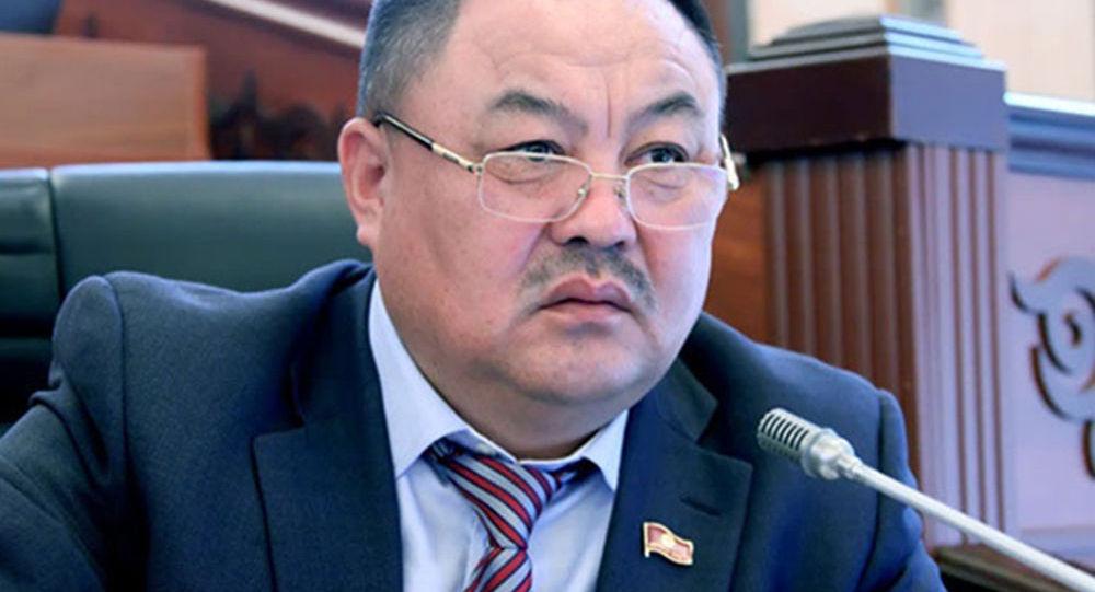Экс-депутат Талант Узакбаев. Архив