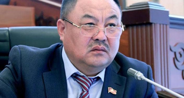 Депутат Жогорку Кенеша Талант Узакбаев
