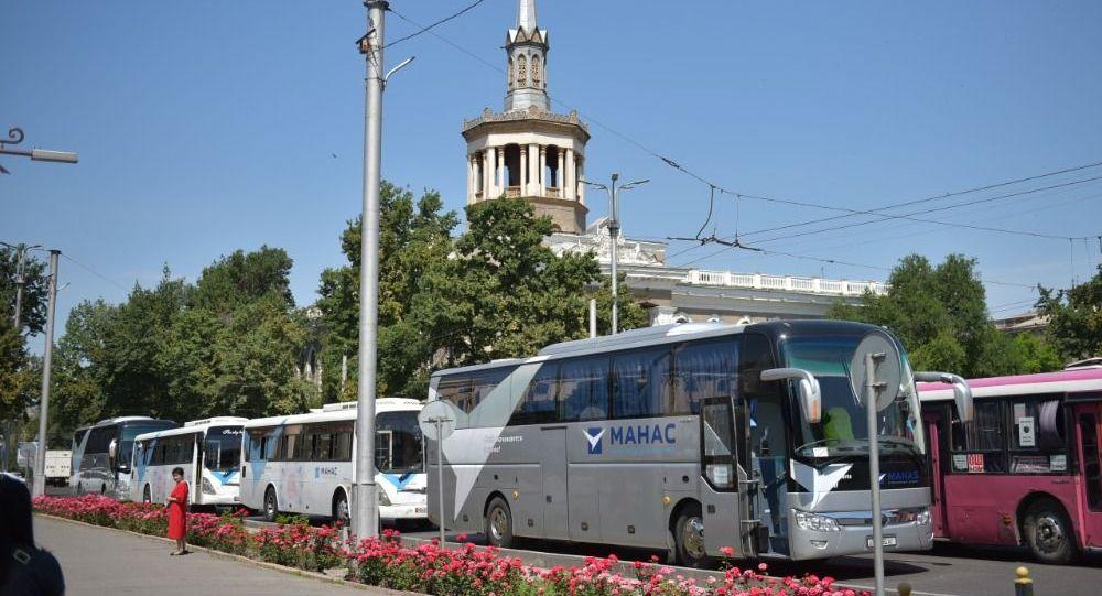 Бишкек мэриясы маршрутка айдоочулары иш таштаганына байланыштуу убактылуу төрт микроавтобусту ишке киргизди
