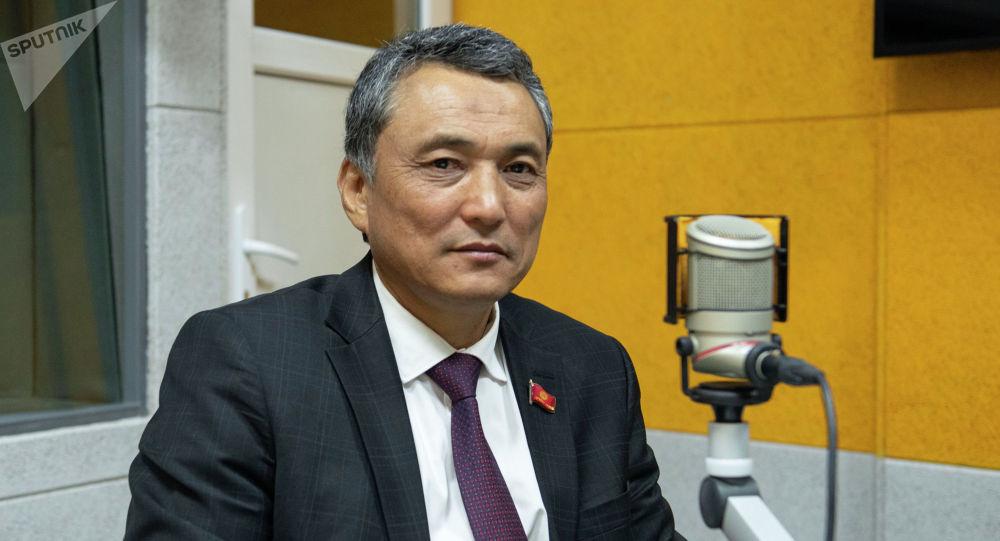 КСДП фракциясынын депутаты Самат Ибраев