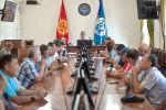Встреча и.о. мэра Бишкека с руководителями ассоциаций и фирм-перевозчиков маршрутных такси