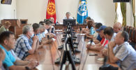 Бишкек мэриясынын маалымат жыйынында