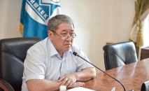 Исполняюший обязанности мэра Бишкека Бактыбек Кудайбергенов. Архивное фото