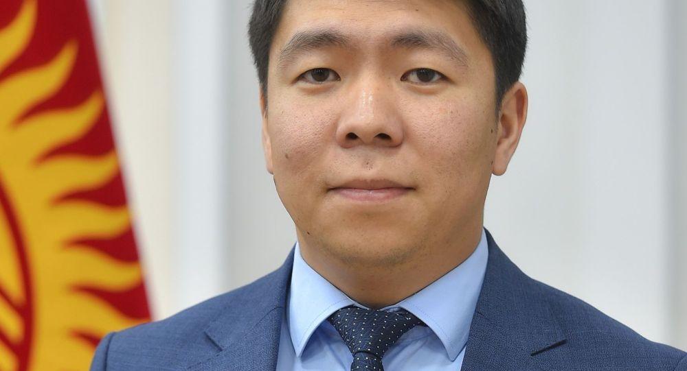 Назначенный пресс-секретарем президента Кыргызстана Садыра Жапарова Эрбол Султанбаев