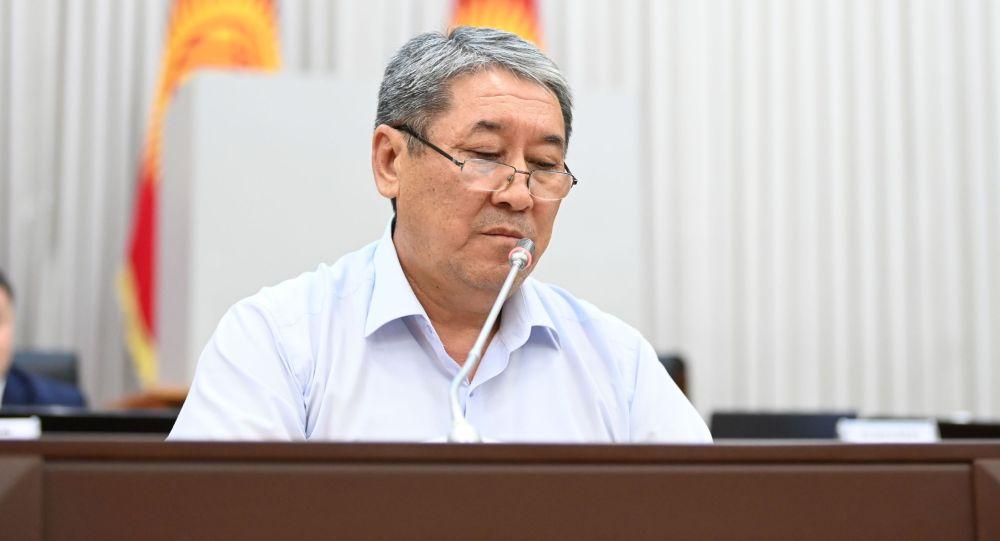 Бывший и.о. мэра Бишкека Бактыбек Кудайбергенов. Архивное фото