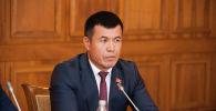 Жогорку Кеңештин депутаты Өмүрбек Бакиров. Архивдик сүрөт