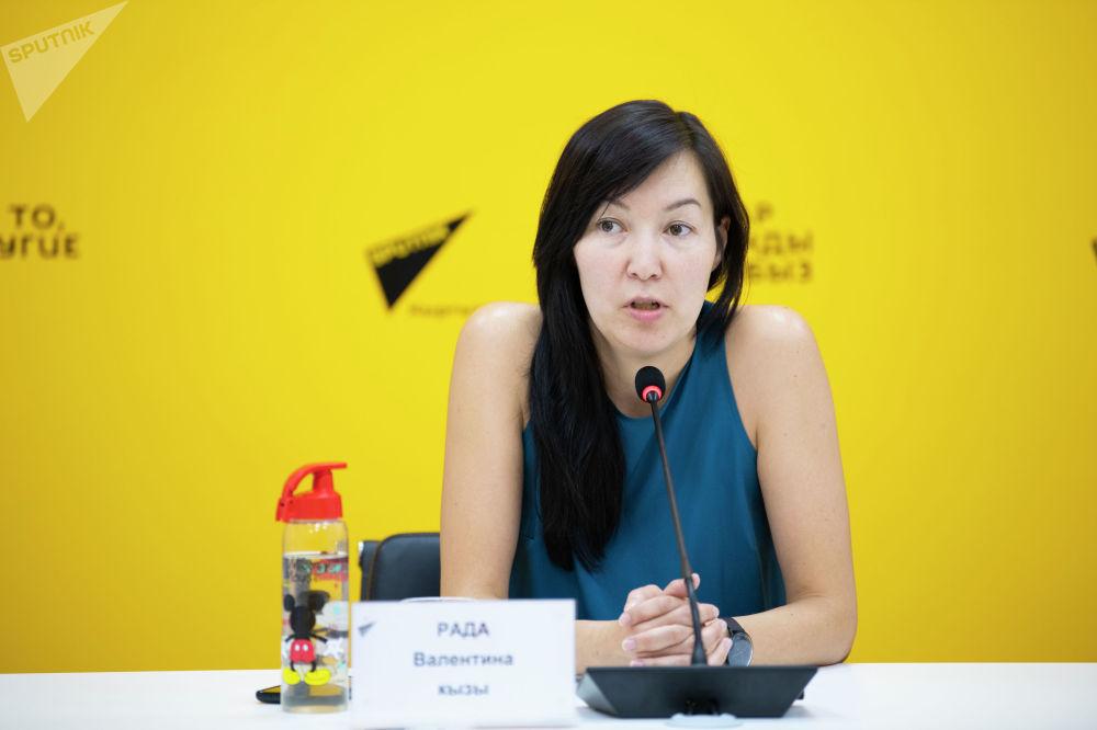 Основательница гражданской инициативы Peshcom Рада Валентина кызы