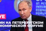 Пленарное заседание Петербургского экономического форума (ПМЭФ) пройдет с участием российского президента Владимира Путина.