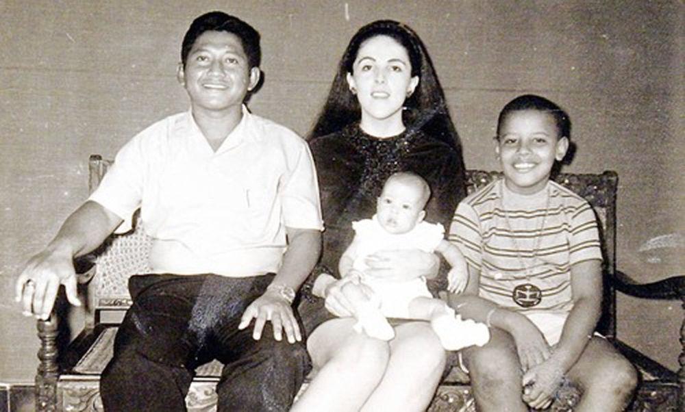 Экс-президент США Барак Обама в девять лет, 1970 год