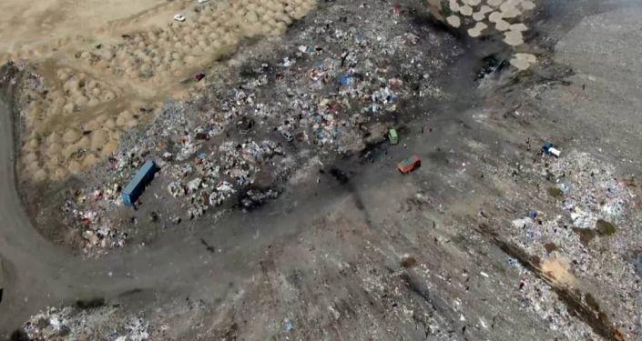 Возобновление работ по закрытию и рекультивации городской свалки в Бишкеке. 08 июня 2021 года
