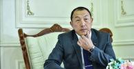 Энергетика жана өнөр жай министри болуп дайындалган Доскул Бекмурзаев. Архив