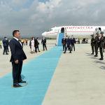 Президент Садыр Жапаров прибыл с официальным визитом в столицу Турецкой Республики в город Анкара. 09 июня 2021 года