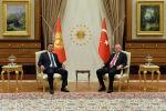 Анкарада Президент Садыр Жапаров менен Түркия Президенти Режеп Тайып Эрдогандын расмий жолугушуу