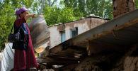 Баткен облусунун Максат айылынын тургуну Фарида Малабаева