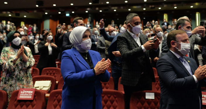 Гости церемонии закрытия IV Международного Иссык-Кульского форума имени Чынгыза Айтматова, который проходил в г. Анкара. 09 июня 2021 года