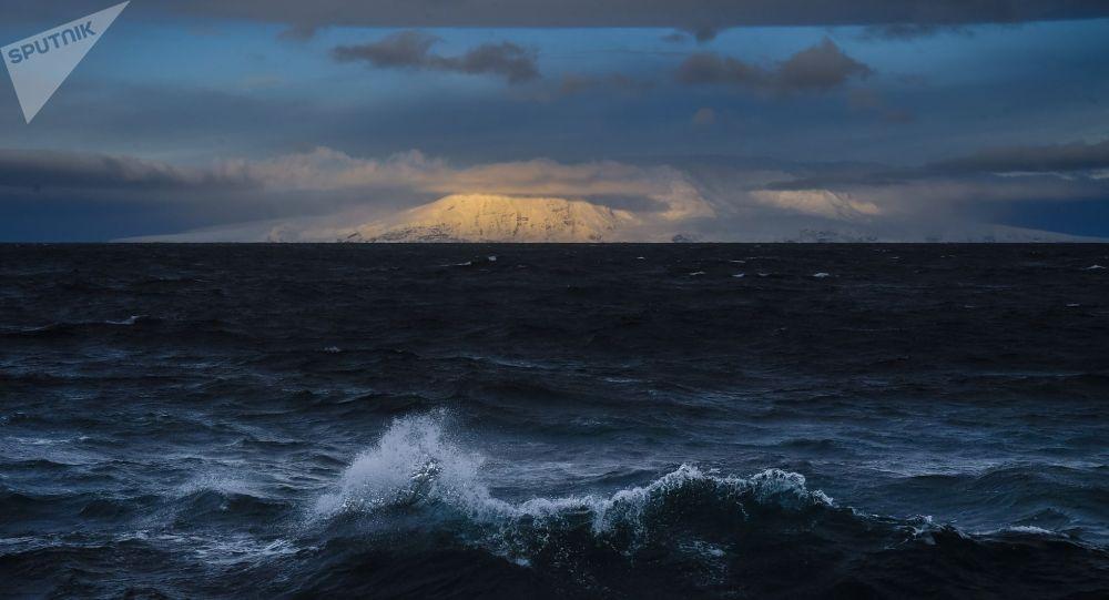 Остров в антарктической части Тихого океана. Архивное фото