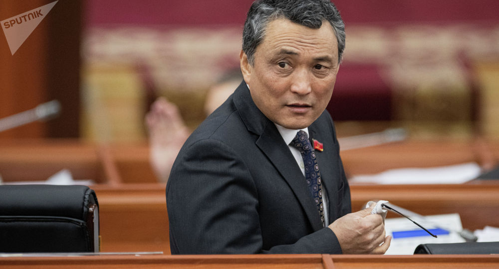 Депутат Самат Ибраев. Архив
