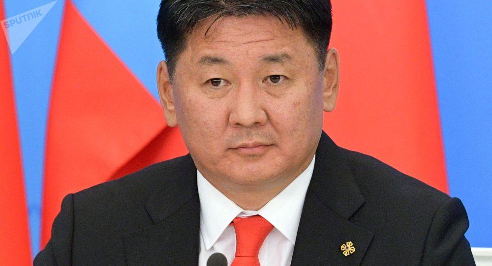 Премьер-министр Монголии Ухнаагийн Хурэлсух. Архивное фото