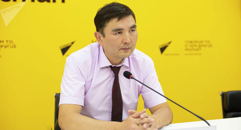 Ректор Кыргызского государственного технического университета имени И. Раззакова Мирлан Чыныбаев