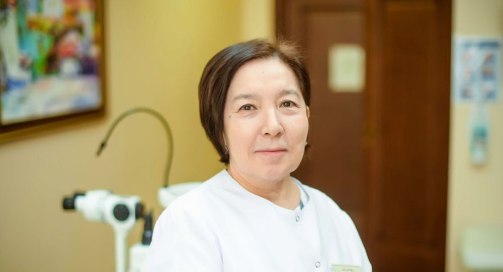 Профессор, врач-офтальмолог Магрипа Кожакбаева. Архивное фото