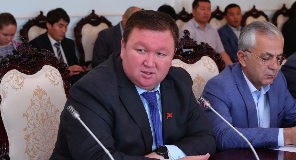 Жогорку Кеңештин депутаты Мирлан Жээнчороев. Архив