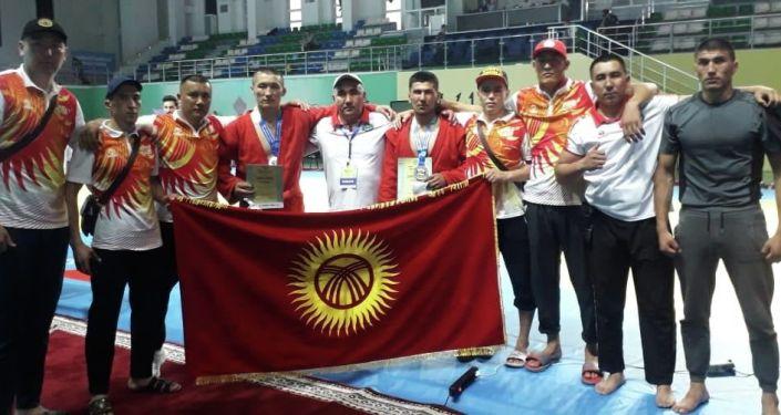 Бойцы специального полка МВД Шумкар завоевали три медали на соревнованиях по самбо среди сотрудников правоохранительных органов в Ташкенте