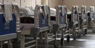 Кровати в палате госпиталя. Архивное фото