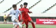 Футбол боюнча Кыргызстандын курама командасы Мьянманы 8:1 эсеби менен утуп алды