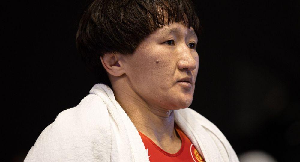 Олимпиаданын күмүш ээси Айсулуу Тыныбекова. Архивдик сүрөт