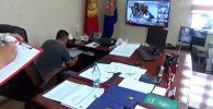 Государственный комитет национальной безопасности представил видео обыска кабинета и места жительства начальника Юго-западной таможни Государственной таможенной службы Нурбека Айтмаматова.