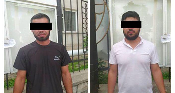 Задержанные подозреваемые по делу о наркотиках в Исфане