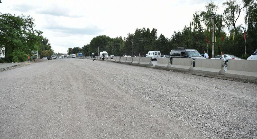 Инспекция хода реконструкции дороги Бишкек - Кара-Балта