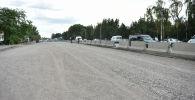 Бишкек—Кара-Балта жолунун бир бөлүгүн оңдоо иштери